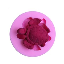 Chinese  Amazing Little Turtle Shape Fondant Cake Mmold Silicone Baby Cookie Cutter Cookie Cake Décor Chocolate Mold Pastry Mould manufacturers