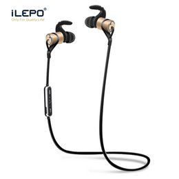 Chinese  Metal Sport Wireless Earphones Bluetooth Magnetic Neckband Headsets With Stereo Sound HD Voice English Retail Box Better Marshall HBQ manufacturers