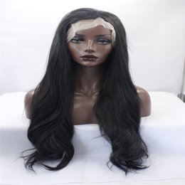 $enCountryForm.capitalKeyWord NZ - kabell Fashion wig lace front wigs OneDor 26 Inch Full Head Wavy Kanekalon Black Auburn Highlight Hair Wig Straight hair kabell