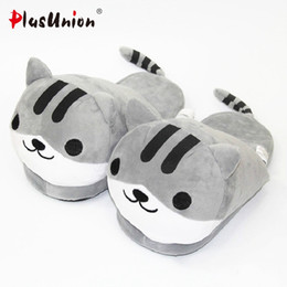$enCountryForm.capitalKeyWord Canada - cat animal indoor slippers furry adult cartoon house home women tiger soft slipper men winter faux plush unisex emoji shoes
