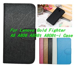 Chinese  Luxury High Quality For Lenovo Gold Fighter A8 A808T Case,Cell Phone Cover Skin For Lenovo A8 A806 A808t A808t-i phone Case manufacturers