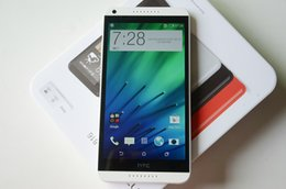 new unlocked android phones 2019 - Original HTC 816 5.5inch Quad Core ROM 8GB RAM 1.5GB 13.0MP Dual Sim 3G GPS Refurbished Unlocked Phone Look New