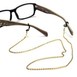 SunglaSSeS chained online shopping - Reading Glasses Spectacles Glasses Sunglasses Holder Neck Cord Metal Strap Chain