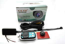 Full HD 1080P DIY Camera pinhole camera with remoto control CCTV Security camera Mini DV T186 black box in retail box on Sale