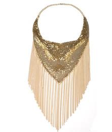 $enCountryForm.capitalKeyWord UK - wholesale women neck chain 2017 hot sale national style short chokers fashion necklace fringe chain B997