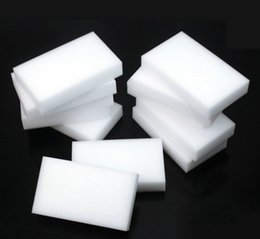$enCountryForm.capitalKeyWord Canada - 10Pcs Multi-function Magic Melamine Sponge Eraser Cleaner Cleaning Sponges Kitchen Bathroom 100x60x20mm