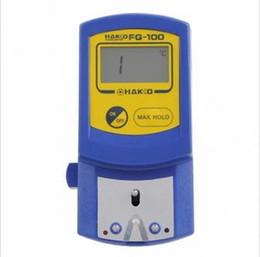 Probador de la temperatura del termómetro de la punta del soldador de Hakko FG-100 0-700 que envía libremente en venta