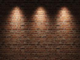 Venta al por mayor de Telones de fondo personalizados de vinilo Pared de ladrillo y piso de madera Tema Muselina Fotografía Fondo ZQ45