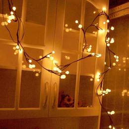 Christmas Globe Decorative String Lights 8.2Ft 72 LED Indoor Outdoor String  Lights For Garden Party Bedroom With 8 MODES U0026 MEMORY FUNCTIONS