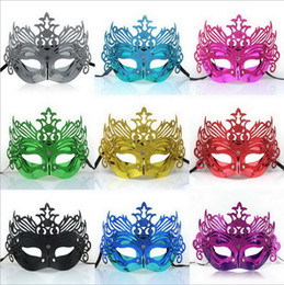 Cosplay For Men Canada - 25 pcs Classic Halloween Mask Plating Crown Part Masks for Men and Women Fashion Mask for Halloween Christmas Cosplay Great Quality Mask
