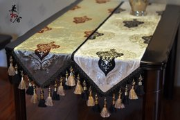 $enCountryForm.capitalKeyWord Canada - Runners Freeshipping Rushed New Limited Tablecloth Handmade Europe Style Wedding Table Runner Golden Luxury Embroidery Home Hotel Decoration