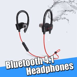 Waterproof earpiece online shopping - 56S Wireless Bluetooth Earphones Waterproof Headphones Stereo Bass Headset Sweatproof Sport Earpieces Ear Hook Earbuds With Mic for iPhone
