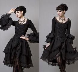 Long Sleeve Gothic Dress