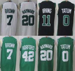 675f2da29fec ... 2017-18 New11 Kyrie Irving 7 Jaylen Brown Celtics Jersey Cheap 0 Jayson  Tatum 20 ...