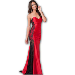 Chinese  Wholesale-R70210 High quality on sale women dresses super deal prom dresses off shouder low cup floor length elegant robe ete 2015 manufacturers