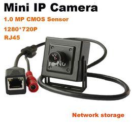 Indoor Hd Cctv Camera Canada - 2015 Onvif P2P H.264 3.6mm Lens 720P Megapixel HD 1MP Indoor CCTV Security Network Mini IP Camera