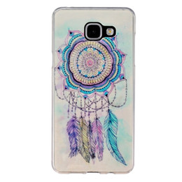China Lovely Colorful Flower Pattern Cute Cartoon Dog Cat Owl Animal Soft TPU Cover Case for Samsung Galaxy A5 2016 Phone Bag suppliers