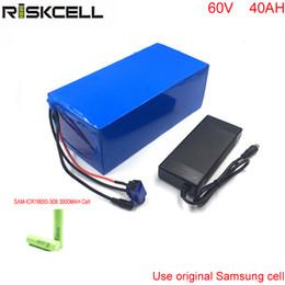 6v lithium batteries online shopping - 60v ah high power with Samsung cell battery pack v w lithium ion battery for solar system e bike E bike E motorcycle