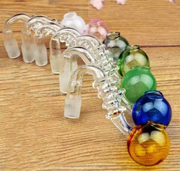 Glass cookinG smokinG pipe online shopping - Colorful glass cooking pot hademade glass water pipes accessories smoking accessories with mm port for mm joint glass pipes