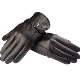 $enCountryForm.capitalKeyWord Australia - Wholesale-Fashion Man Leather Winter Gloves Sheepskin Leather Gloves