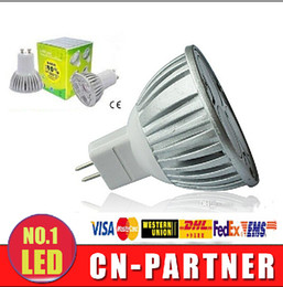 Chinese  lowest CREE 3*1W 3W replace 9W Led Spot Bulbs Light E27 E14 MR16 GU10 Led non-Dimmable Lights Lamp Warm Natrual Cold White AC 110-240V manufacturers