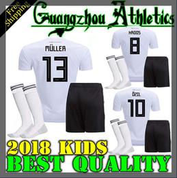 25a33152a73 online shopping thai qualit Germany kids soccer jerseys home Germany jersey  shirt customize MULLER OZIL GOTZE