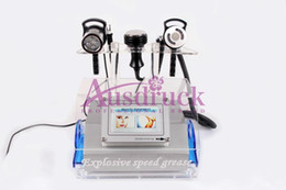 Rf Skin Tightening Machine Free Pas Cher-EU TAX FREE 5in1 40K Cavitation ultrasonique RF Machine amincissante perte de graisse sous vide visage BIO Lifting tightening skin rejuvenation beauty machine