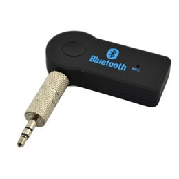 $enCountryForm.capitalKeyWord Canada - Cheap 3.5mm Hands-free Wireless Bluetooth V3.0 Stereo Audio Music Receiver with Mic for Car AUX Home Audio Mini Bluetooth Car Kit DHL
