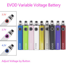 $enCountryForm.capitalKeyWord NZ - EVOD Variable Voltage Battery Button Adjust Voltage for CE4 CE5 CE6 MT3 Vivi Nova protank DCT H2 iclear30 Aspire Atomizer