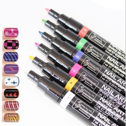$enCountryForm.capitalKeyWord Canada - Nail Art Pen Painting Design Tool 16 Colors Optional Drawing Gel Made Easy DIY Nail Tool Kit
