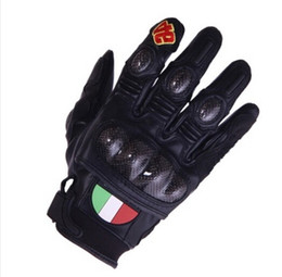 Gloves motorcycle motorbike online shopping - 2015 HOT SALE collector Moto Racing Gloves motorcycle gloves motorbike Electric bicycle gloves made of carbon fiber have color size M L XL