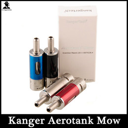 $enCountryForm.capitalKeyWord Australia - 2015 1.8ml kanger aerotank Mow Atomizer Adjustable Airflow Aerotank Mow Clearomizer clone for Aeroank Emow Kit vision spinner battery