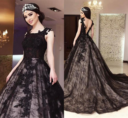 77a319654f4a 2018 Black Zuhair Murad Evening Dresses A Line Lace Backless Plus Size Sequined  Beaded Arabic Dubai Celebrity Prom Dresses Long Party Gowns