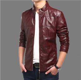 Discount Brown Moto Jacket Men | 2017 Brown Moto Jacket Men on ...