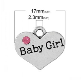 Dorabeads Charm Pendants Heart Antique Silver Message  Baby Girl Carved Pink Rhinestone 17.0mm x 15.0mm20 PCs  sc 1 st  DHgate.com & Baby Gift Message Canada | Best Selling Baby Gift Message from Top ...