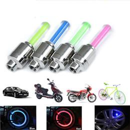 Pneu Roue Valve lumière De Voiture Vélo Led Flash Lumière Nouveauté Cap Lampe Motorbicycle Roue Lumières De Voiture Vélo LED Flash Pneu Lumière Roue