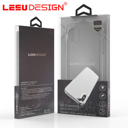 online shopping LEEU DESIGN air cushion shockproof gel tpu sound switching speaker transparent phone case anti shock cover for iphone x plus s8 R11