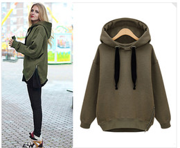 $enCountryForm.capitalKeyWord Canada - 2016 spring fashion tracksuits hoodies for women pullover plus size thick long-sleeved sweatshirts cotton warm hoodie sherpa wholesale women