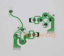 Ps4 controllers original online shopping - Original new green Conductive Film Keypad Part F For PlayStation For PS4 Controller Joystick DualShock Replacement set pc left pc rig
