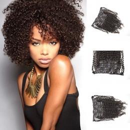 $enCountryForm.capitalKeyWord Canada - 4B 4C Kinky Curly Clip In Human Hair Extensions 7PCS Russian African American Clip In Human Hair Extensions Clip Ins G-EASY
