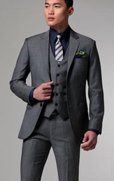 Navy Suits For Sale Australia - Wholesale -Custom made groom tuxedos Hot Sale wedding suits Groom Tuxedos Classic groom suits for man-q165