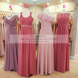 2017 Women Olive Garden Mix Style Real Samples Plus Size Bridesmaids  Dresses 2016 Simple Designer Long