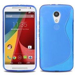 $enCountryForm.capitalKeyWord Canada - Wholesale Hot Selling Cover for MOTO G2 Case S Line Skin Soft TPU Gel Case Cover For Motorola Moto G2 Free Shipping