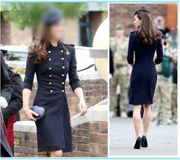 Discount Long Pea Coat Women | 2017 Long Wool Pea Coat Women on ...