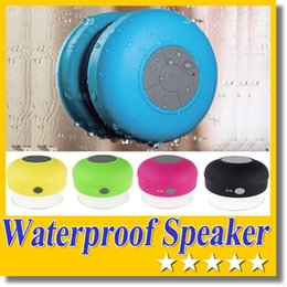 Cheapest phone Calls online shopping - BTS Cheapest Portable Waterproof Bluetooth Mini IPX4 Speaker Handsfree Receive Call Music Suction Phone Mic Wireless speakers