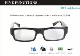 $enCountryForm.capitalKeyWord Canada - HD 720P mini glasses camera portable Eyewear pinhole camera HD No Hole sunglass Mini DV DVR digital video recorder with retail box