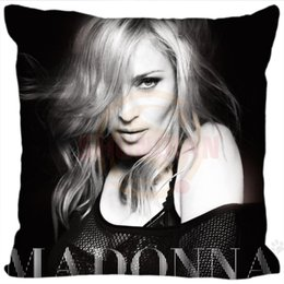 H Case Australia - Wholesale- Pillow Case H+P#152 New Hot Custom Pillowcase Madonna #4 soft multi-sized (duplex print) Pillow Cover Zippered SQ01003@H0152