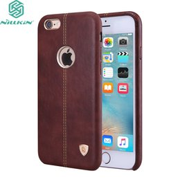 """Chinese  For Apple Iphone 6 6s Plus 7 7 Plus 5 .5 """"Case Original Nillkin Englon Leather Cases For Iphone 6 6s 7 (4 .7 """")Phone Back Covers manufacturers"""