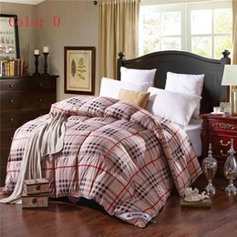 winter comforter duck feathers quilted blanket quilt lattice bedding filler filling king queen size blanket home textile