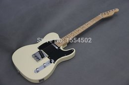 $enCountryForm.capitalKeyWord Australia - Free shipping cream color TLcaster basswood body electric guitar,maple neck and chrome tuners guitars made in China